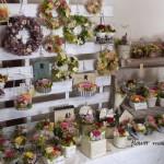 販売ブース5月29日30日アレンジフラワー「flower mail coco」
